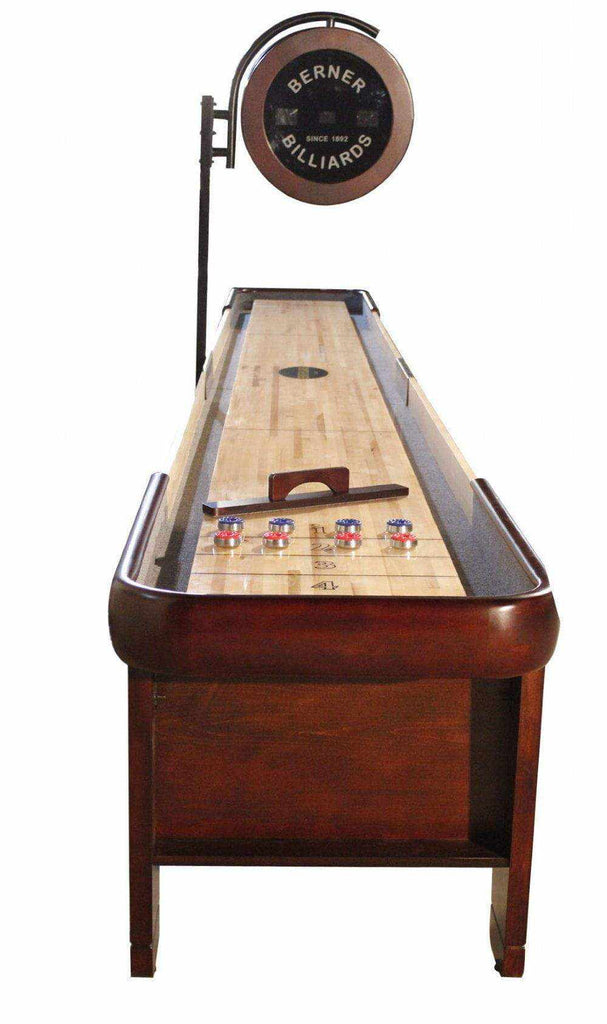 Berner Billiards The Retro 22 foot Shuffleboard Table