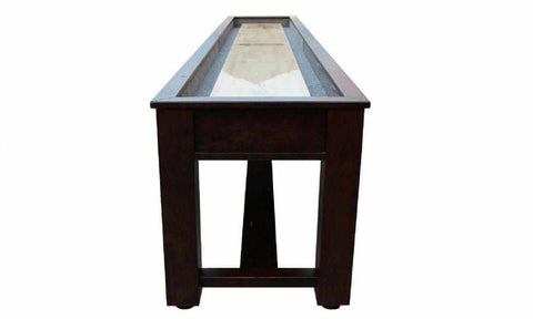 Image of Berner Billiards The Rustic 12 foot Shuffleboard Table