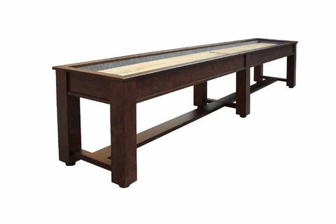 Image of Berner Billiards The Rustic 14 foot Shuffleboard Table