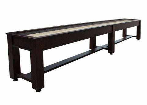Image of Berner Billiards The Rustic 16 foot Shuffleboard Table