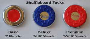 Pucks / Weights for Shuffleboard Tables