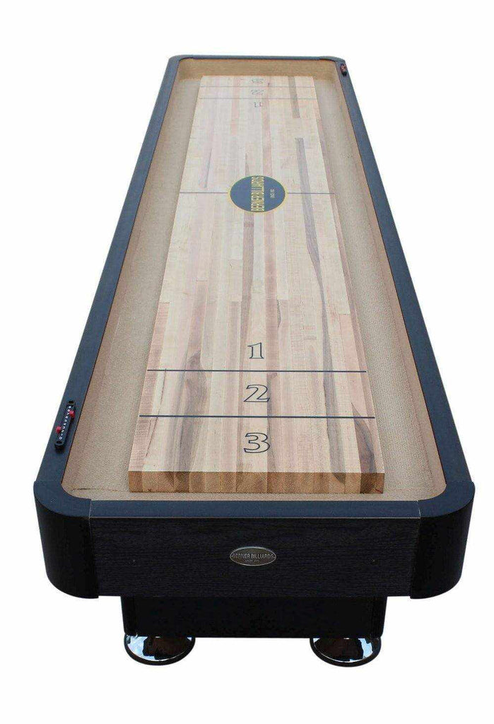 Berner Billiards The Standard 12 foot Shuffleboard Table in Black