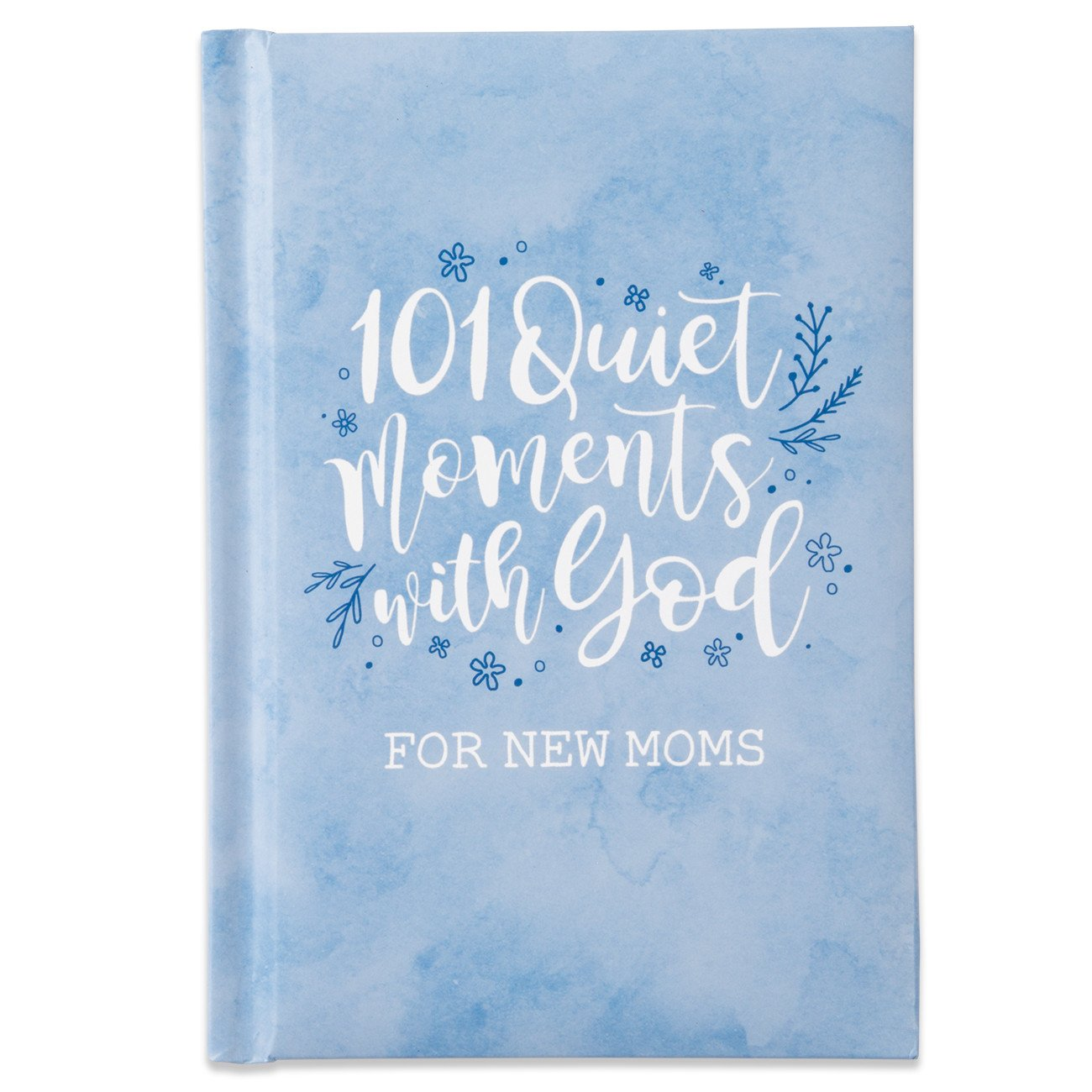 101 Quiet Moments Gift Book - Blue
