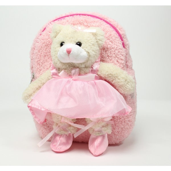 Ballet Bear Backpack