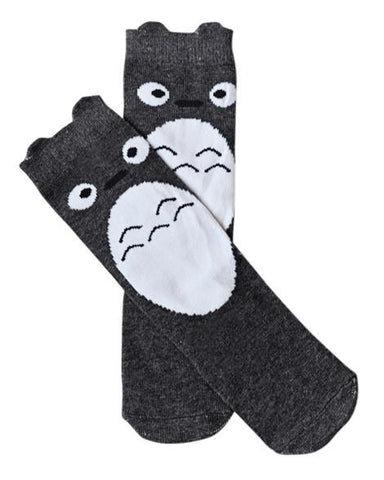 Gray Squirrel Socks