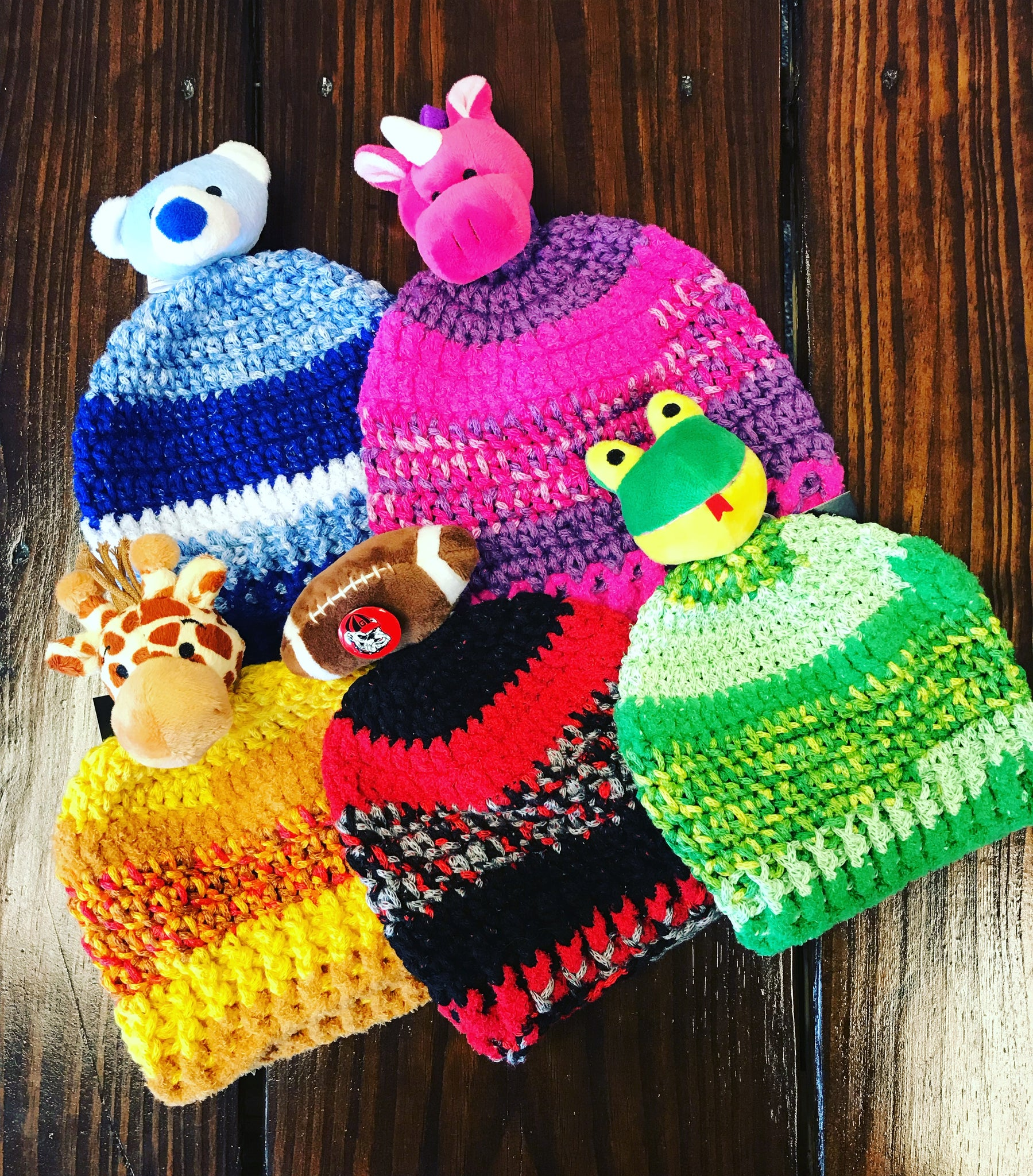 Hand Knitted Animal Hats