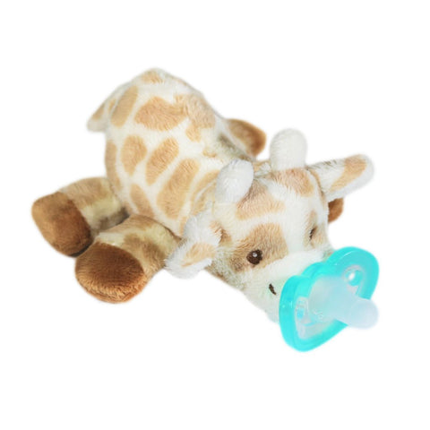 RaZbuddy Paci Holder - JollyPop Pacifier - Zoey Giraffe