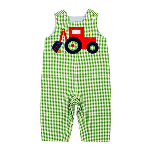 The Backhoe Collection Boys Reversible John John Long (6m & 3T)