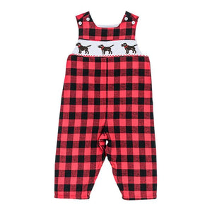 The Smocked Puppy Dog Collection Boys John John Long (Sizes: 6m & 12m)