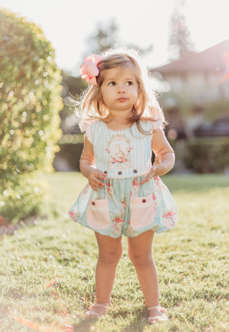 Yvonne Bubble Romper