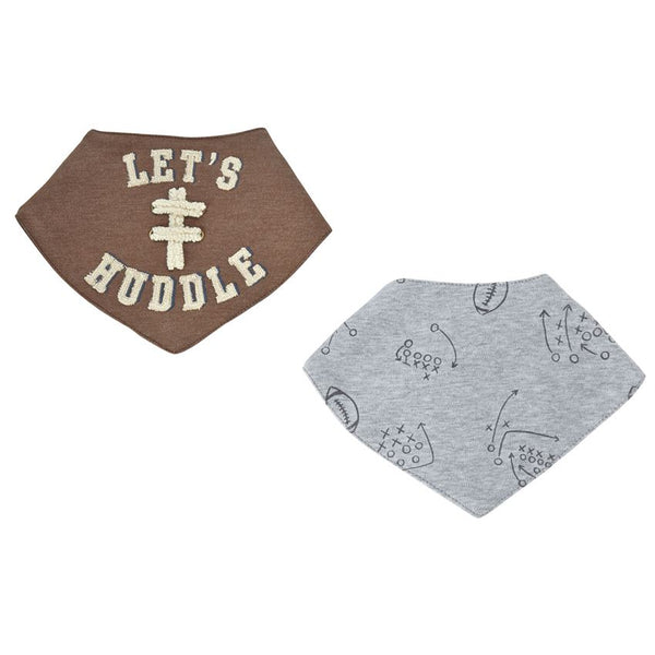 Football Bandana Bib Set