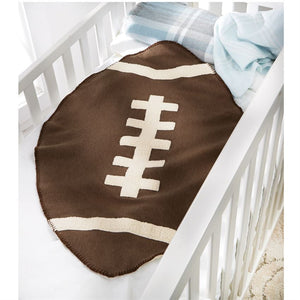 Sherpa Football Blanket