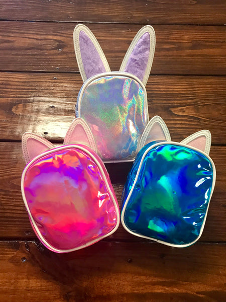 Disco Vibe Bunny Cat Purse
