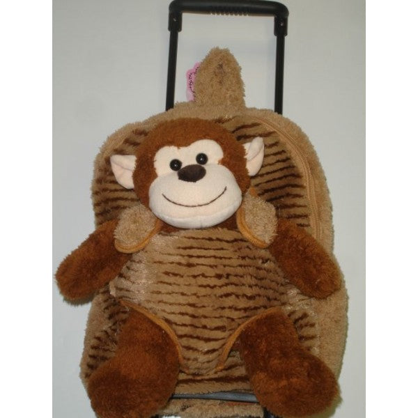 Monkey Plush Trolley