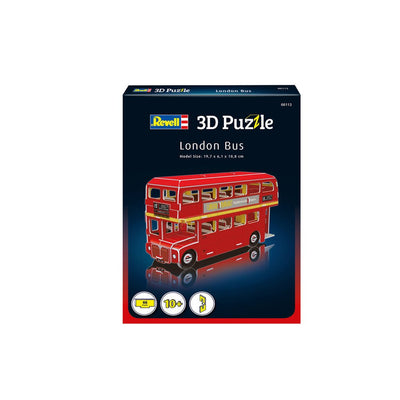 3D PALAPELI REVELL LONTOON BUSSI