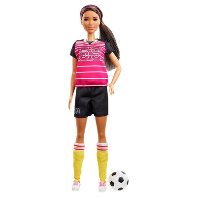 BARBIE 60TH ANNIVERSARY CAREER DOLL -URHEILIJA