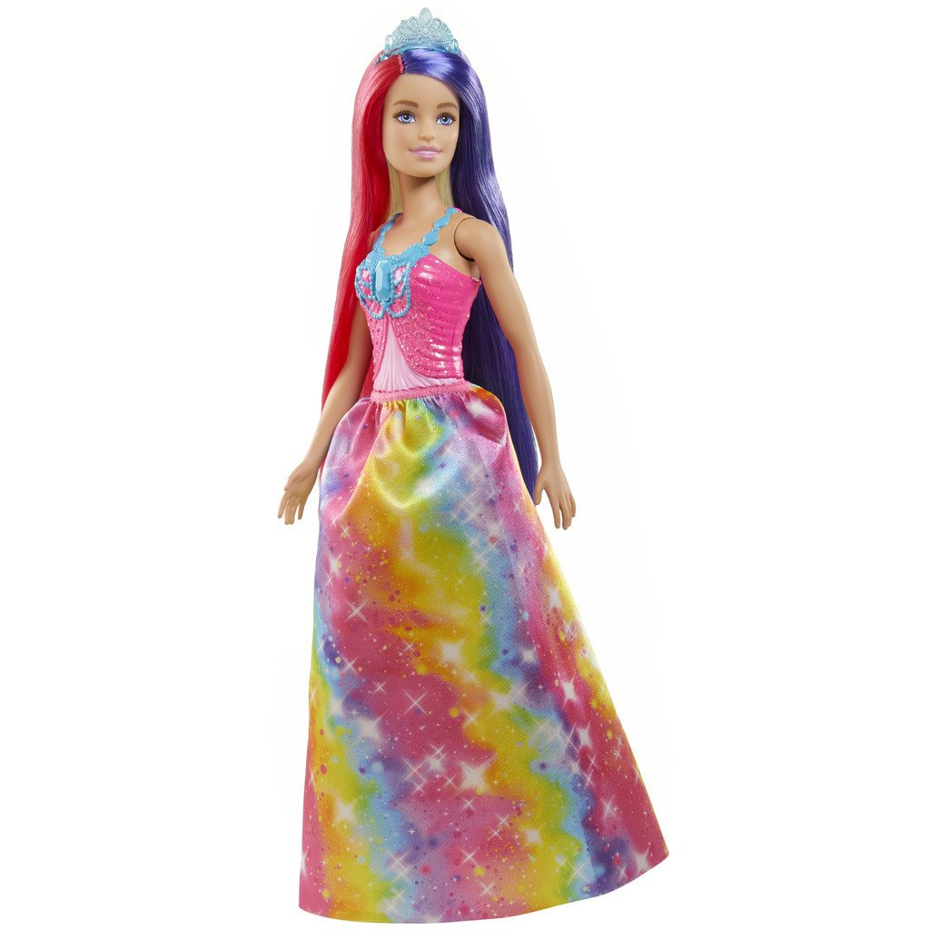 BARBIE FANTASY HAIR NUKKE - PRINSESSA