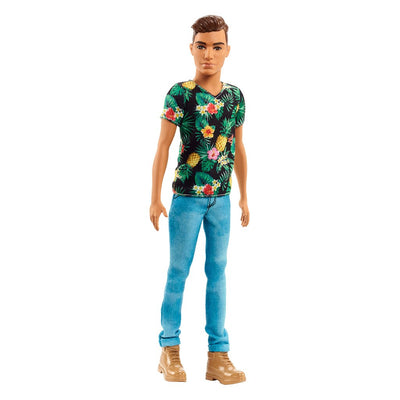 BARBIE FASHIONISTA KEN - TROPICAL VIBES - HOIKKA