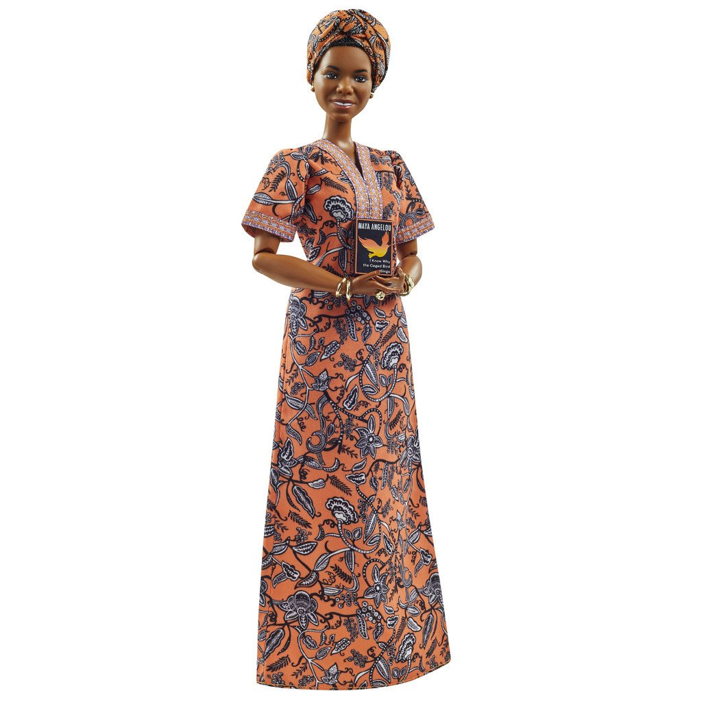 BARBIE INSPIRING WOMEN MAYA ANGELOU