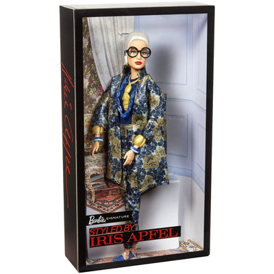 BARBIE SIGNATURE NUKKE STYLED BY IRIS APFEL NUKKE 4