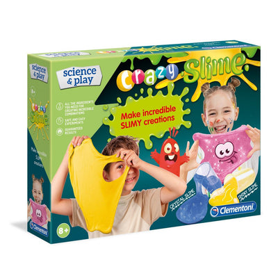 CLEMENTONI SCIENCE AND PLAY CRAZY SLIME LIMASETTI