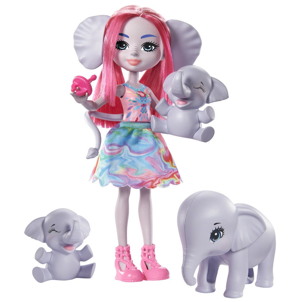 ENCHANTIMALS NUKKESETTI FAMILY - ESMERALDA ELEPHANT