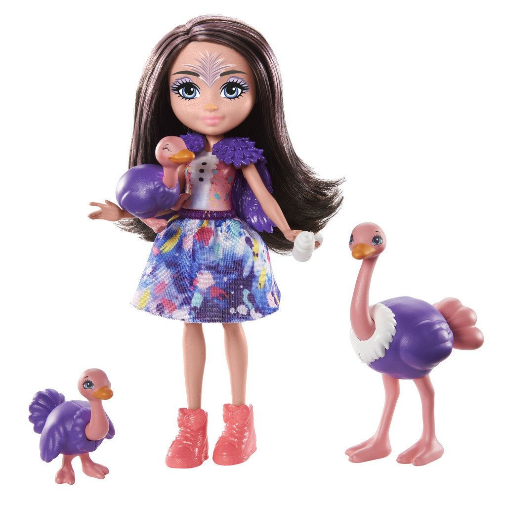 ENCHANTIMALS NUKKESETTI FAMILY - OFELIA OSTRICH
