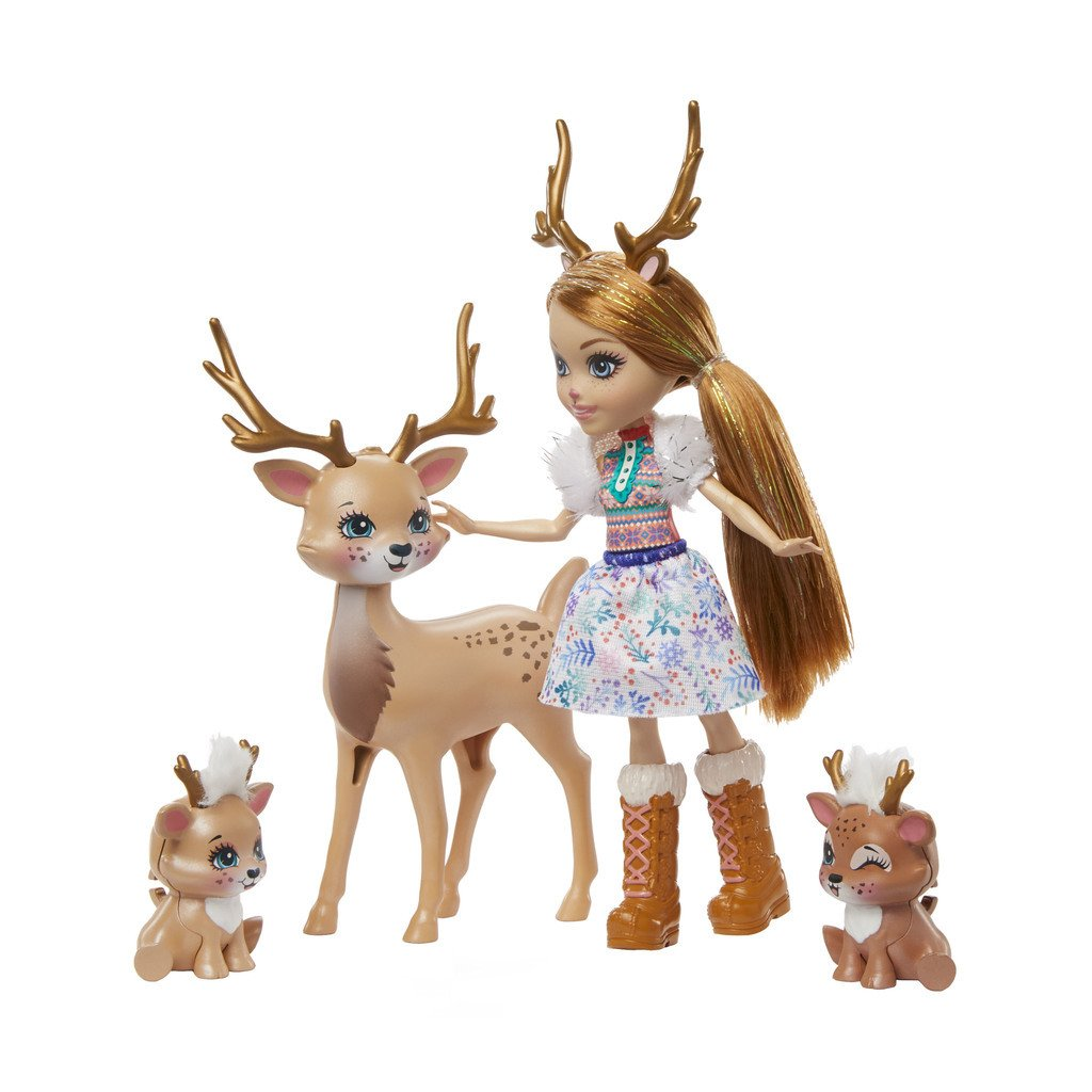 ENCHANTIMALS NUKKESETTI FAMILY - RAINEY REINDEER