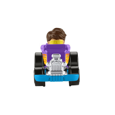FISHER-PRICE LITTLE PEOPLE NEW WHEELIES AJONEUVO - LILA