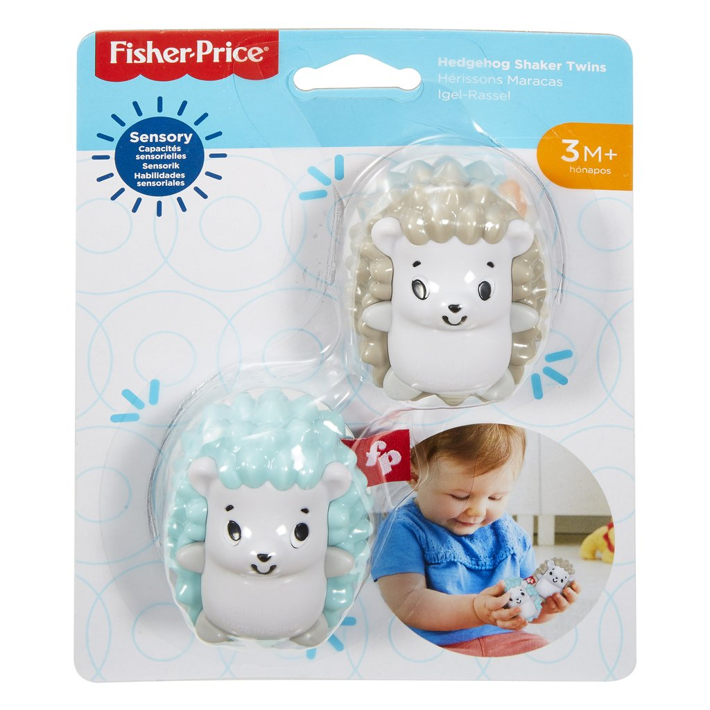 FISHER-PRICE HELISTIN HEDGEHOG SHAKER TWINS
