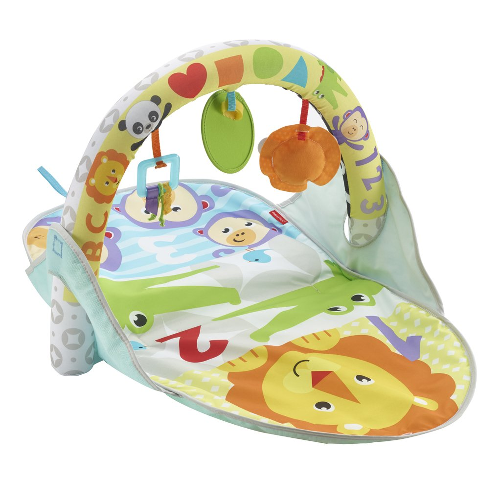 FISHER-PRICE PUUHAMATTO 2 IN 1 FLIP & FUN ACTIVITY GYM