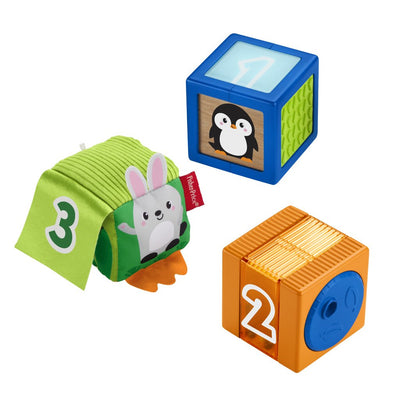 FISHER-PRICE RAKENNUSPALIKAT SENSORY BLOCKS