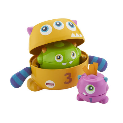 FISHER PRICE STACK & NEST PINOTTAVAT MONSTERIT