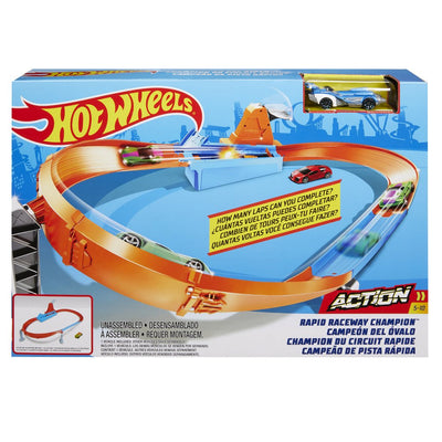 HOT WHEELS AUTORATA RAPID RACEWAY CHAMPION