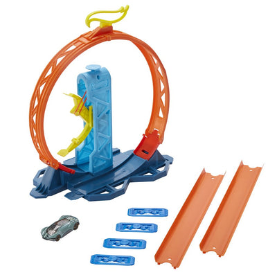 HOT WHEELS AUTORATA TRACK BUILDER SILMUKKA