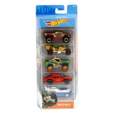 HOT WHEELS PIKKUAUTOT 5 KPL