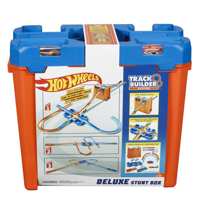 HOT WHEELS TRACK BUILDER AUTORATASETTI DELUXE STUNT BOX