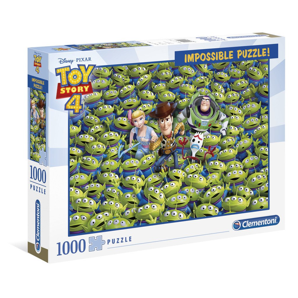 IMPOSSIBLE PALAPELI 1000 PALAA TOY STORY 4
