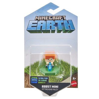 MINECRAFT EARTH BOOST MINIFIGUURI ATTACKING ALEX