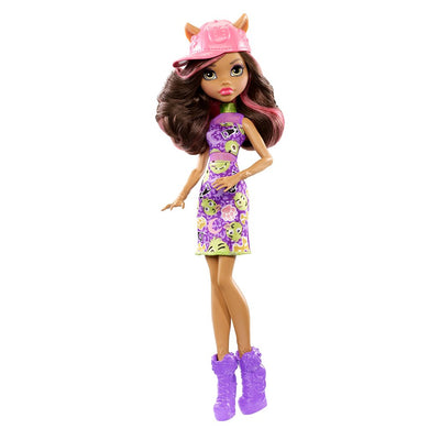 MONSTER HIGH PERUSNUKKE - CLAWDEEN WOLF