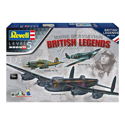 BRITISH LEGENDS 100 YEARS RAF - KOOTTAVA PIENOISMALLI