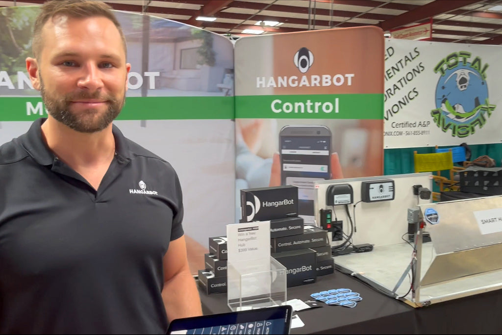 Lynk Remote Technologies Demonstrated HangarBot Smart Hangar System at SUN 'n FUN Aerospace Expo