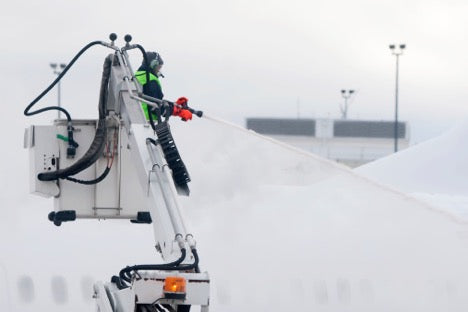 Here's What You Need to Know About Aircraft Deicing