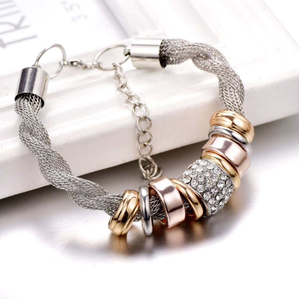 Fashion Tornado Crystal Bracelet