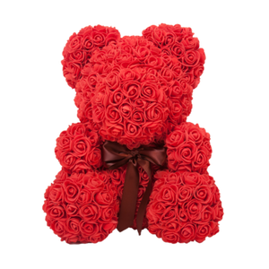 Valentine Love Rose Bear