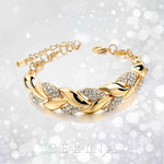 Diamond Leaf Luxury Bracelet