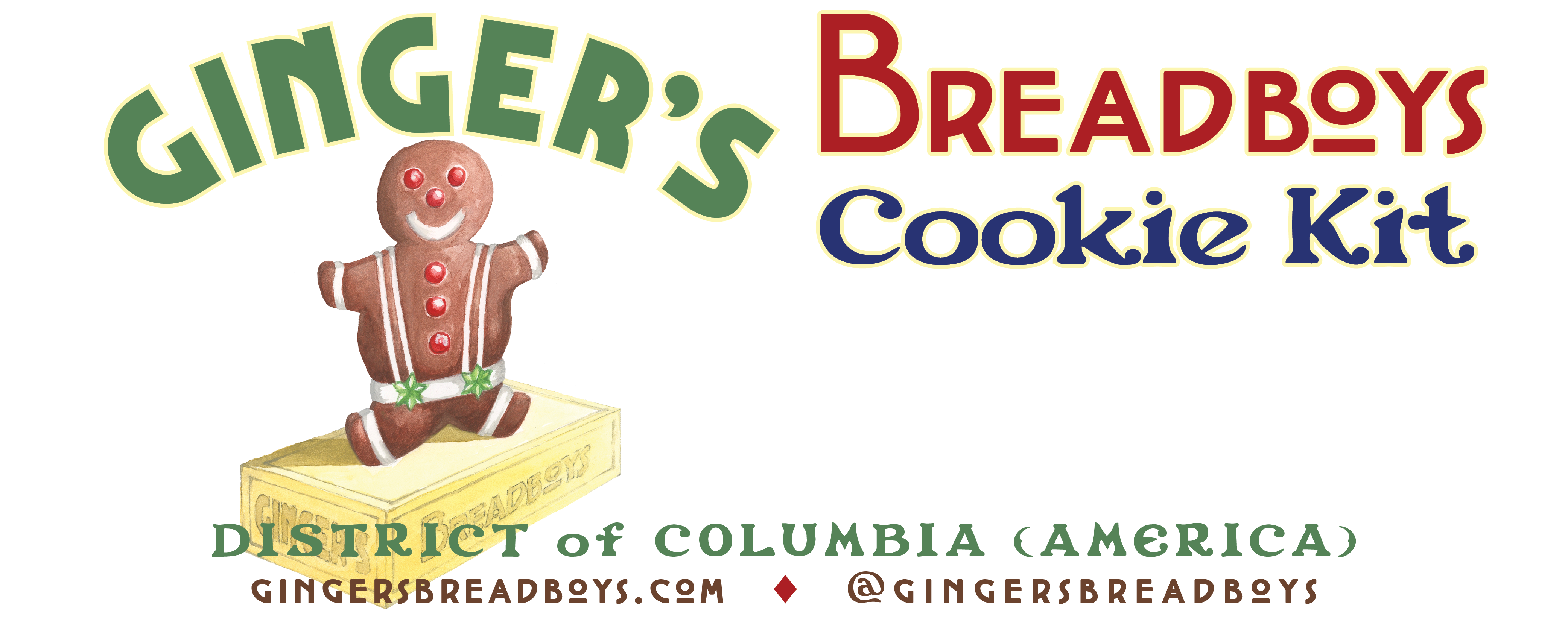 How to make gingerbread cookies with the Ginger's Breadboys cookie kit