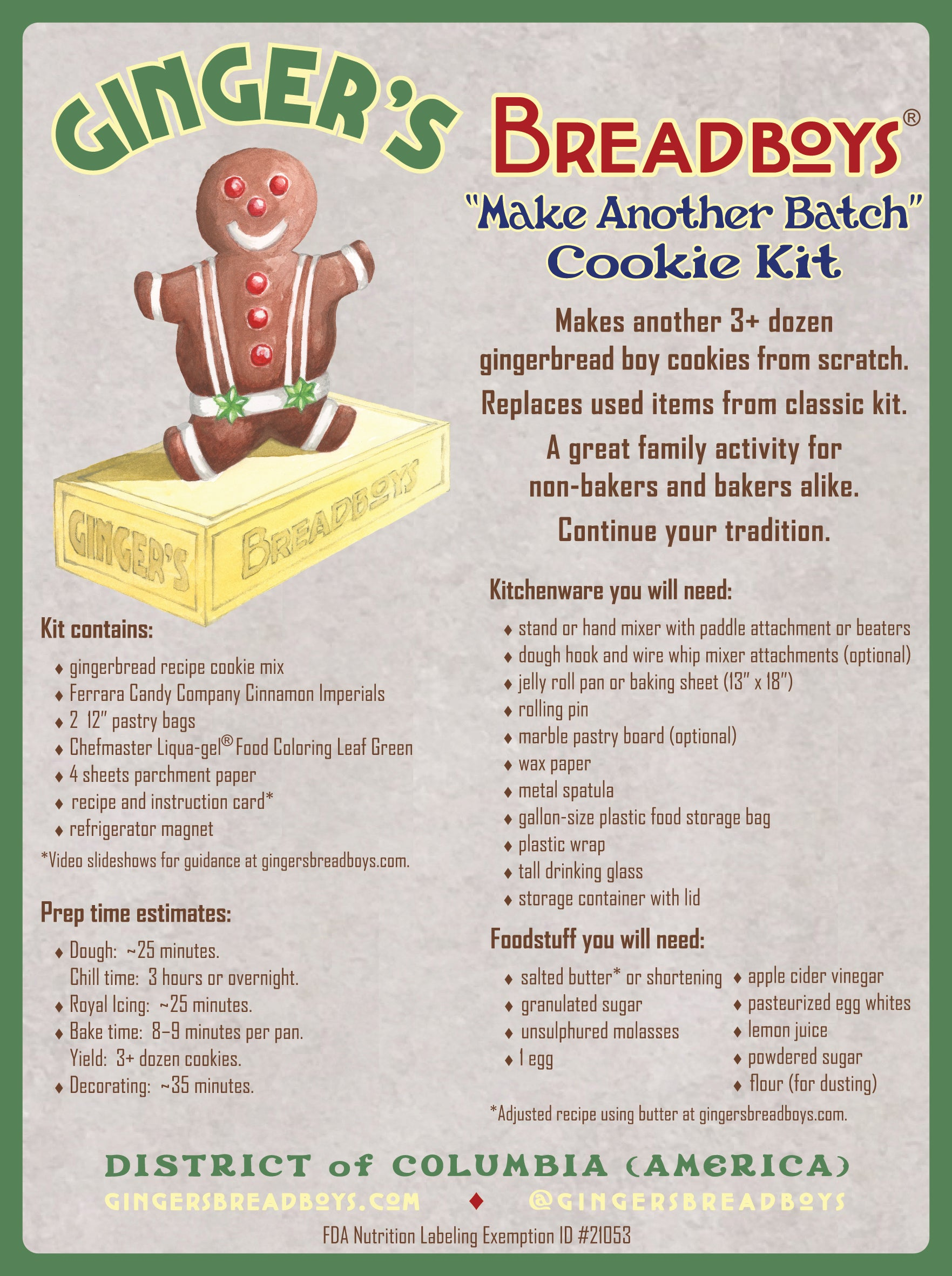 Make Another Batch cookie kit