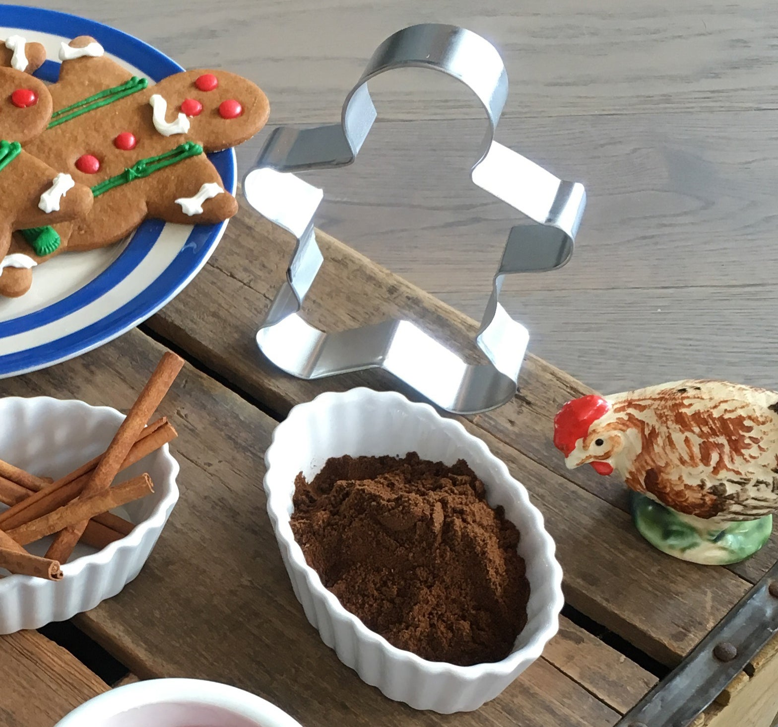 Gingerbread cookie cutter from Ginger's Breadboys