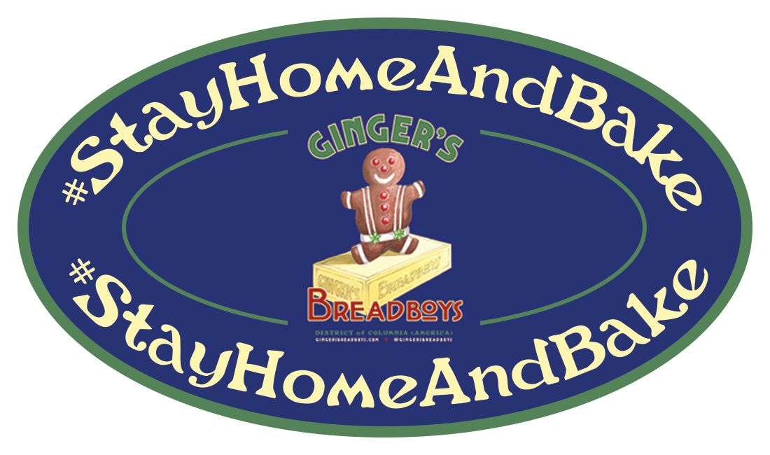 Ginger's Breadboys® Branded Butcher Apron